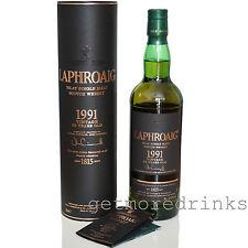 LAPHROAIG 1991 VINTAGE limitiert Single Malt Scotch Whisky 23 Jahre 52,6%