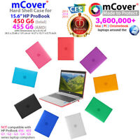 "NEW mCover® Hard Shell Case for 15.6"" HP ProBook 450 455 G6 AMD Windows laptop"