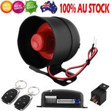Car Security System Alarm Burglar Central Locking Shock Sensor 2 Remote FA