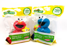 Sesame Street Bath Squirters Toys Lot of 2 Figures...Elmo & Cookie Monster