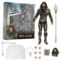 DC Comics Mafex NO 061 Aquaman Justice League PVC Model Figure Medicom KO Toys