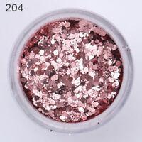 10ml Nail Art Glitter Powder Sequins Nail Tips  Decoration Dust
