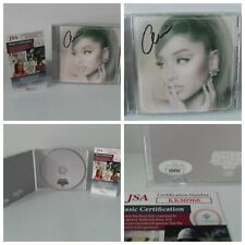 Ariana Grande Positions CD Autographed Signed CD - Brand New - JSA Certified COA