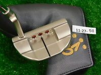 """Titleist Scotty Cameron 2018 Select Fastback 2 34"""" Putter with Headcover New"""