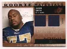2009 SPx Football Rookie Jersey Jason Smith St. Louis Rams #20/99