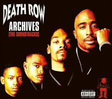 Snoop Dogg 2Pac - Death Row Archives the Soundtracks 4CD's NEU OVP