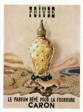 Publicités papier de parfums de collection