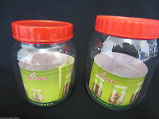 Plastic Contemporary Kitchen Preserving Jars