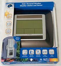 NEW La Crosse Technology Wireless Weather Station Solar Powered WS-8120U