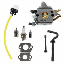 Carburetor Fits Stihl MS192 MS192T MS192TC Chainsaw Zama C1Q-S258 Carb Fuel Hose
