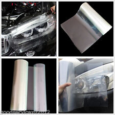 Practical Car Front Headlight Tail Light Clear Tint Vinyl Sheet Sticker For Mini