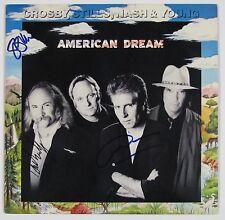 CSNY David Crosby American Dream Signed Autograph Record Album JSA Vinyl