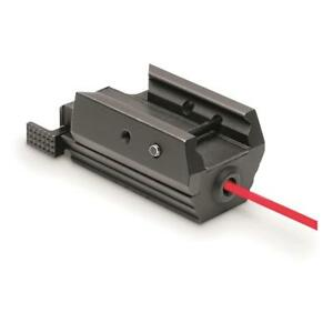 NEW NcStar Tactical Pistol Red Laser Weaver Style and Picatinny Type Rail Mounts
