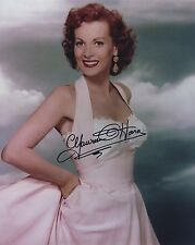 MAUREEN O'HARA SIGNED AUTOGRAPHED COLOR 8X10 PHOTO STUNNING!!!