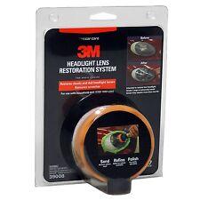 3M 39008 Headlight Lens Restoration System Kit, Buffing Polish and Plastic