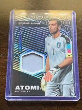 GIANLUIGI BUFFON 2019-20 OBSIDIAN ATOMIC MATERIAL PATCH /99 Italy