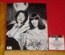 "Robin Williams/Pam Dawber Signed 8""X10"" Black & White Photo Global /GA/GAI/GV"