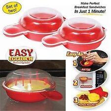 Home Easy Microwave Omelet Egg Hamburg Maker Cookware Cheese Bacon Egg Cooker S