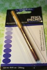 L'Oreal Pencil Perfect Self Advancing Eyeliner Eye Liner ( PLUM BERRY ) SEALED.