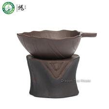 Albero Sgabello Bruno Yixing argilla tè della maglia il tè Filtro e Supporto
