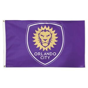 Orlando City SC MLS WinCraft Sports Purple Deluxe Indoor Outdoor Flag (3' x 5')