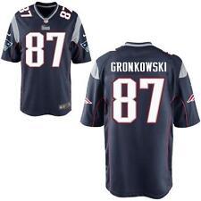 NFL New England Patriots Rob Gronkowski #87 Blue Jersey, Large