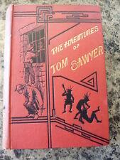 The Adventures of Tom Sawyer. 1889 UK edition.