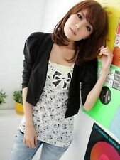 Neu Blazer Japan Sakko Style 3/4 Ärmel Business Jacket Jacke Mantel 36 S Korea