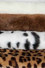 Beautiful Plush Faux Fake Fun Fur Fabric Bear & Animal Toys Sold by Vary Length
