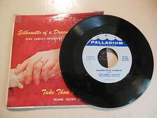 Zabka Silhouette Of A Dream / Take Thou My Heart   PALLADIUM    NEW  45