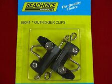 OUTRIGGER CLIP  RELEASE CLIPS TROLLING DOWNRIGGER FISHING PAIR SEACHOICE 88041