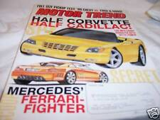 Motor Trend Magazine 8/1998 Caddy Roadster 180 MPH