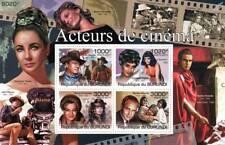 CINEMA ACTORS & HOLLYWOOD FILMS Stamp Sheet #1 of 5 (2011 Burundi)