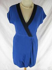 Great Sz 4 8 10  J Crew Blue Day Dress