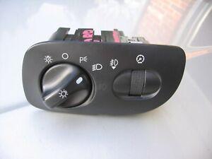 98-02 LINCOLN NAVIGATOR DASH HEADLIGHT AUTO LAMP SWITCH ROLL PULL FOR FOG 5 ICON