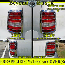 2004-2008 FORD F150 Chrome Tail Light Bezel Covers Triple ABS Overlay Trim Caps