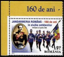 La Romania MNH 2010 il 160TH anniversario della gendarmeria rumeno