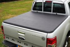 Ford Ranger Hard Folding Tonneau Cover Fits with OE Ladder Rack - Hawk Tri Fold