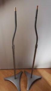 1 Paar Teufel Lautsprecherständer Silber Concept G