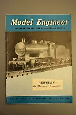 R&L Mag: Model Engineer 13 March 1958 Air Compressor Unit/Making Piston Valves