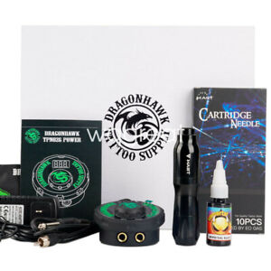 Mast Professional Tattoo Kit Set Rotary Machine Pen Power Ink Needle Accessories