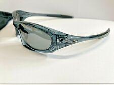 Oakley New Twenty (XX) Crystal Black/ Black Iridium Polarized + Eyewear Holder