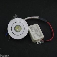 3W Mini LED downlight white round ceiling spot 110V 220V led cabinet lights