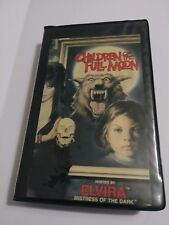CHILDREN OF THE FULL MOON HORROR VHS THRILLER VIDEO HOSTED BY ELVIRA