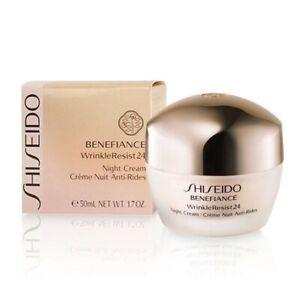 SHISEIDO Benefiance WrinkleResist24 Night Cream 1.7 oz. / 50 mL
