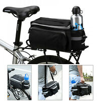 Bicycle Rear Rack Bag Bike Tail Seat Trunk Pack Stroage Handbag Pannier Travel