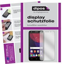 2x Alcatel Pixi 4 Film de protection d'écran protecteur clair dipos