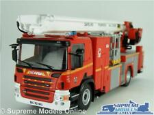 SCANIA P310 R SERIES FIRE ENGINE MODEL TRUCK 1:43 SCALE IXO POMPIERS FRANCE K8