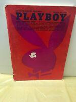 VINTAGE PLAYBOY MAGAZINE DECEMBER 1971 ISSUE