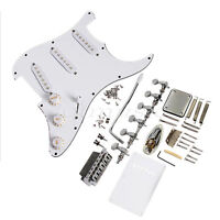 Complete Set of Loaded Pickguard w/Pickups For Fender Strat Guitar Replacement
